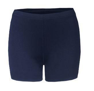 Badger Women's Navy Compression Shorts