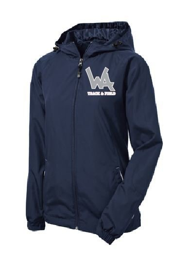 San Mar Women's Hooded Jacket with logo