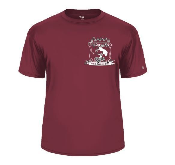Badger Performance Tee with screened logo