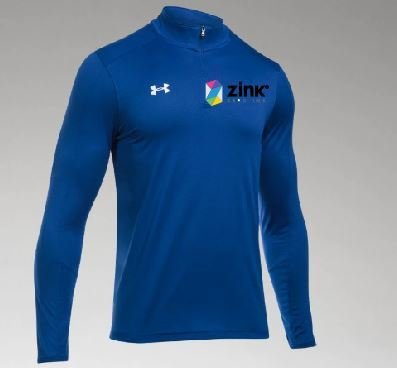 Under Armour Locker Room 1/4 Zip w/embroidered logo