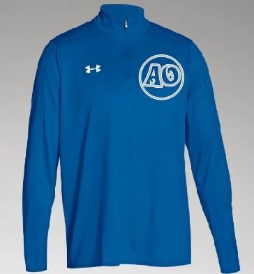 Under Armour 1/4 Zip w/embroidered logo