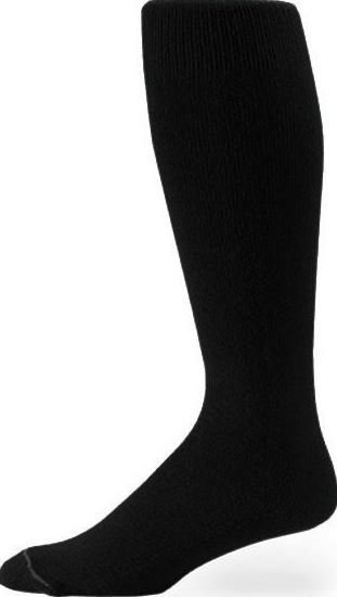 Pro Feet Black Game Socks
