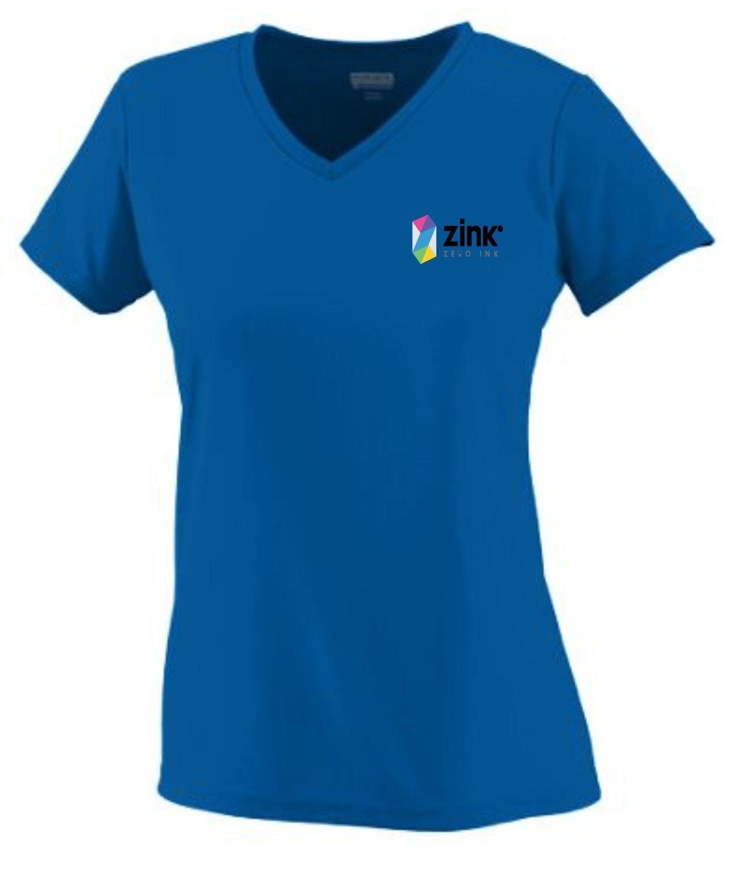 Augusta 1790 Ladies Short Sleeve 100% Polyester Shirt