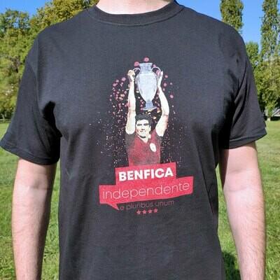 T-Shirt Campeões Europeus | Preto