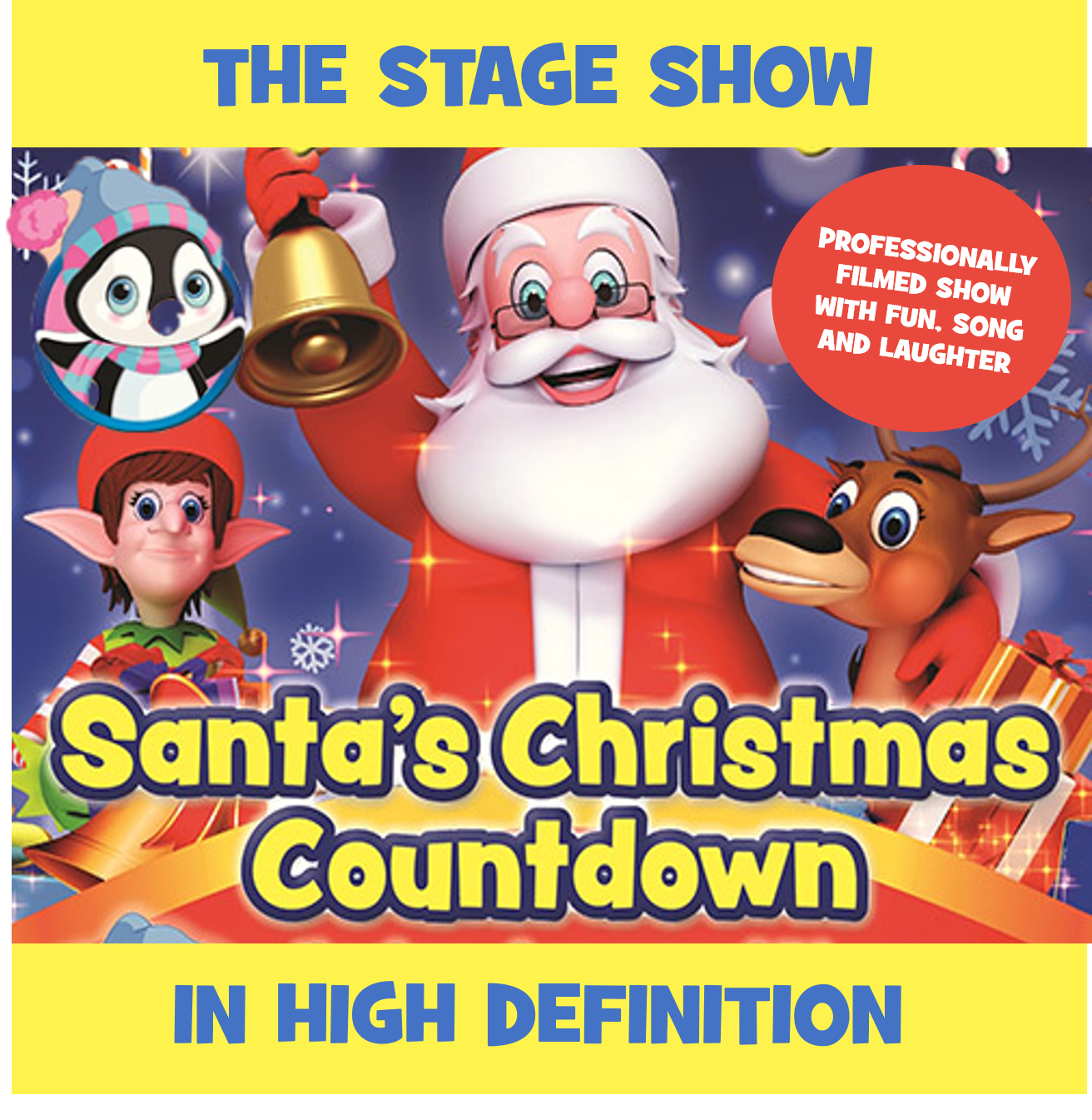 Santa's Christmas Countdown: The Stage Show (HD)