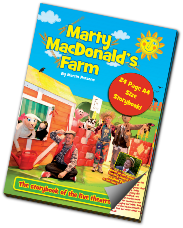 MARTY MACDONALD'S FARM STORYBOOK (Physical  Delivery)