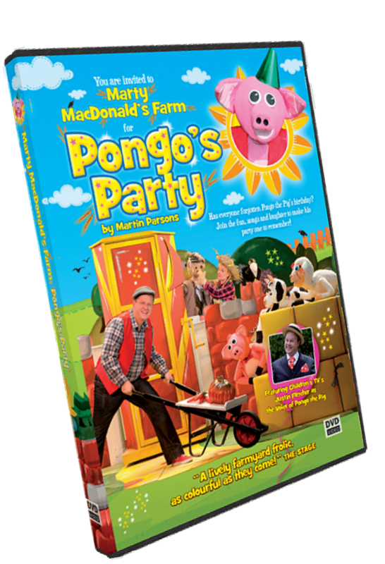 PONGO'S PARTY DVD (Physical Delivery)
