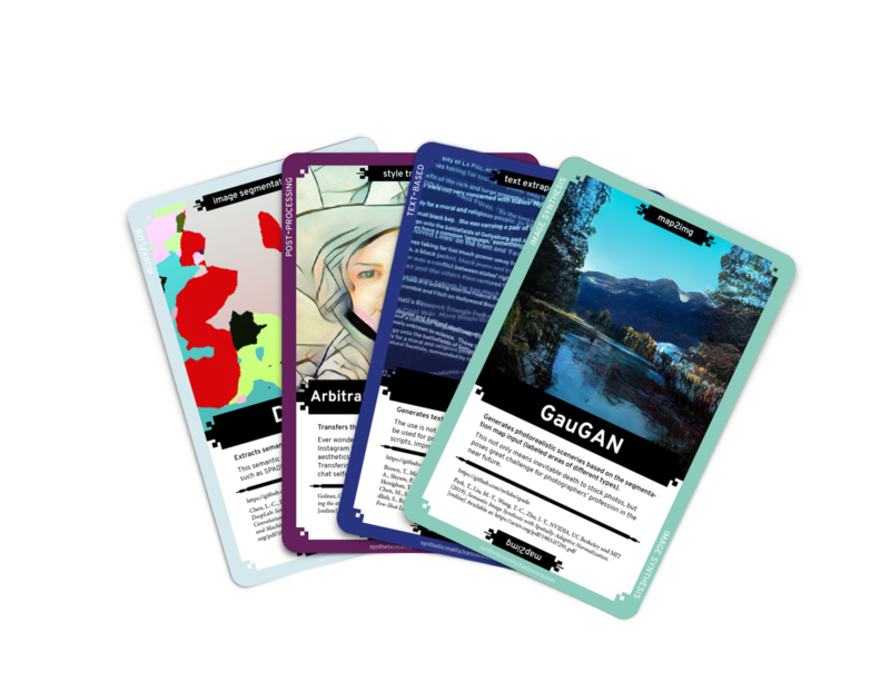 Collective Vision of Synthetic Reality | Digital Card Deck