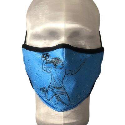 Masque Prestige OXY2 Handball Bleu Femme