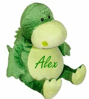 Children's Pillows Name Embroidered Personalized Gifts Dinosaur Children's Baby Gifts