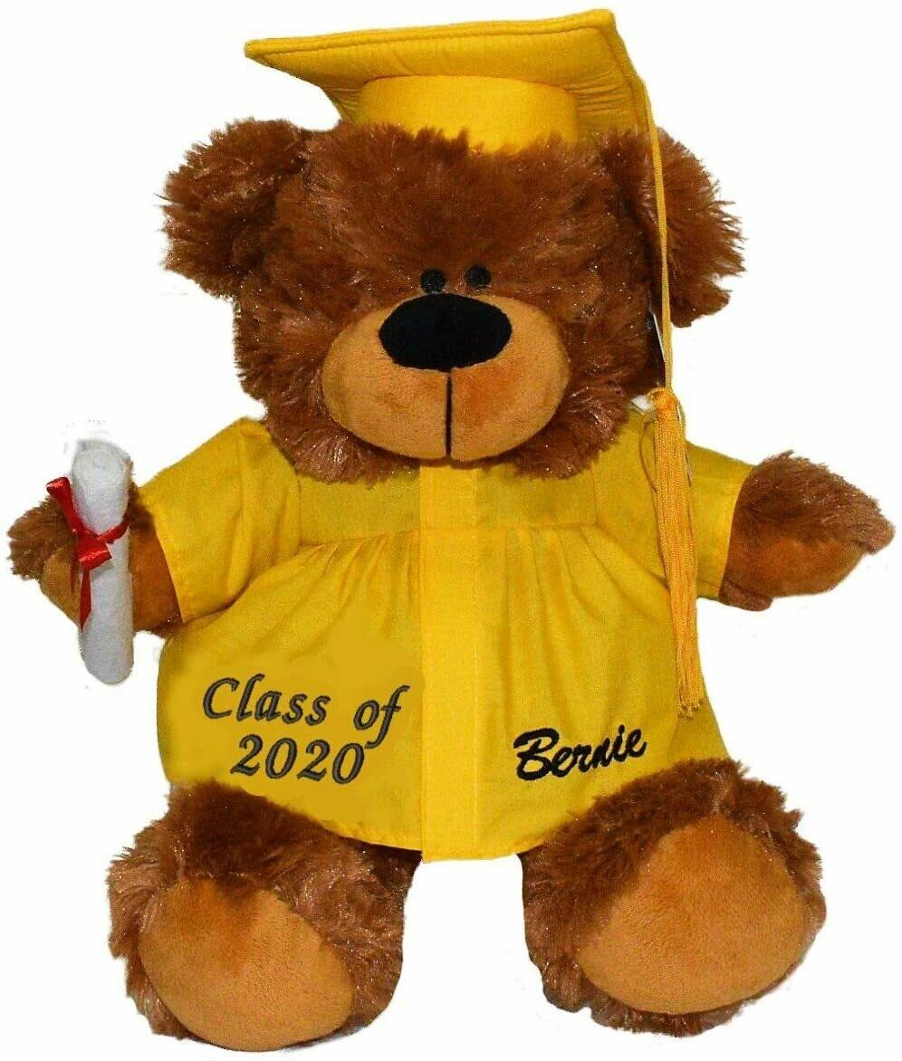 Personalized Graduation Bear 12