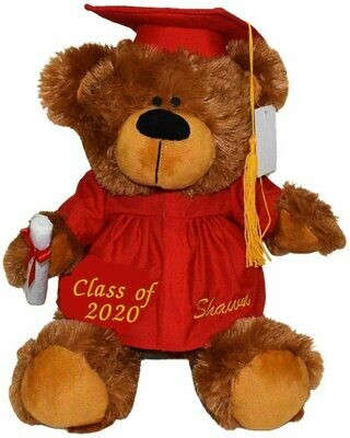 Personalized Graduation Bear 12