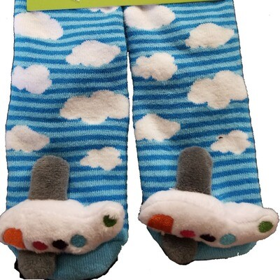 Plush Stuffed Animal Socks Lil Traveler Comfortable Warm Airplane Toddler Discovery Feet Finders