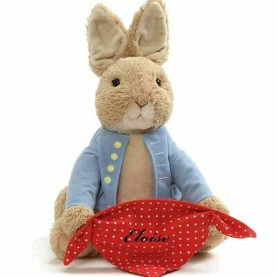 Peter Rabbit Animated Peek A Boo Personalized Customized with Child's Name