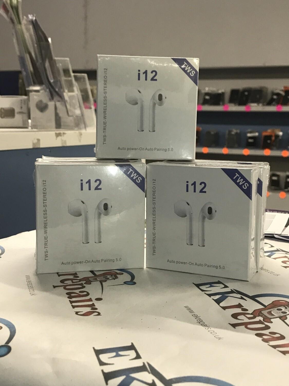 Wireless Headphones, White