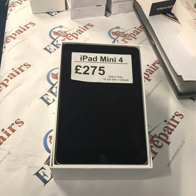 iPad Mini 4, Grey