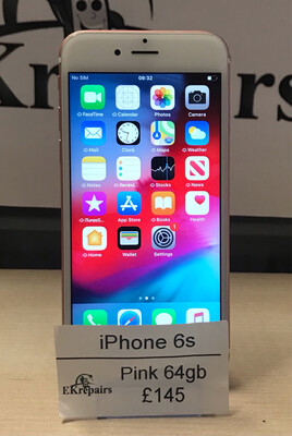 iPhone 6s Rose Gold -  64GB