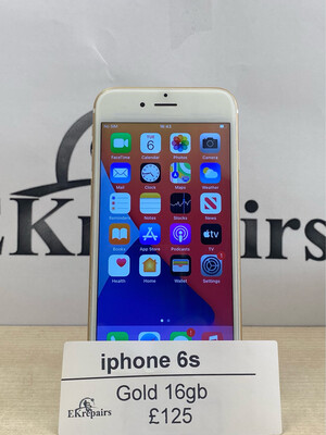 iPhone 6s Gold - 16GB