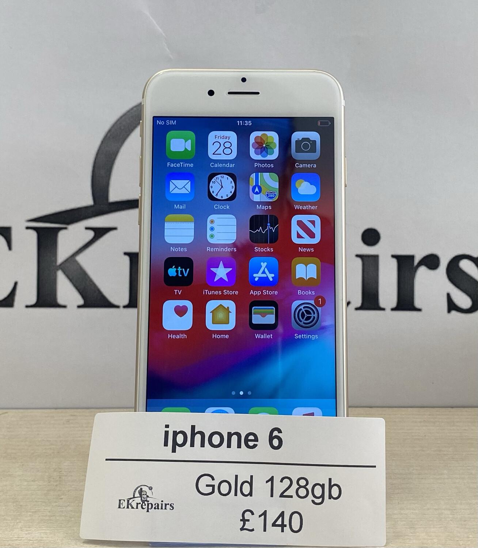 iPhone 6  Gold - 128GB