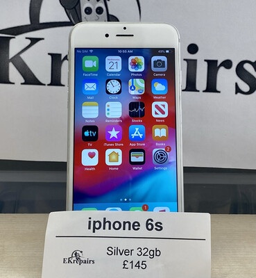 iPhone 6s Silver - 32gb