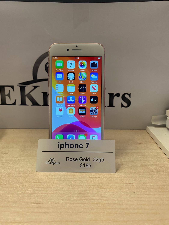 iPhone 7 Rose Gold - 32GB