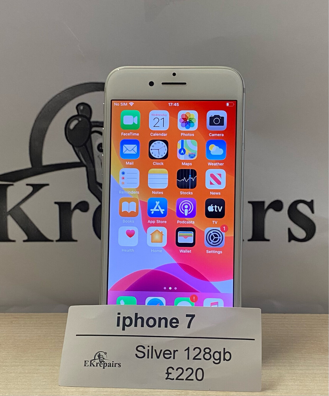 iPhone 7 Silver - 128GB