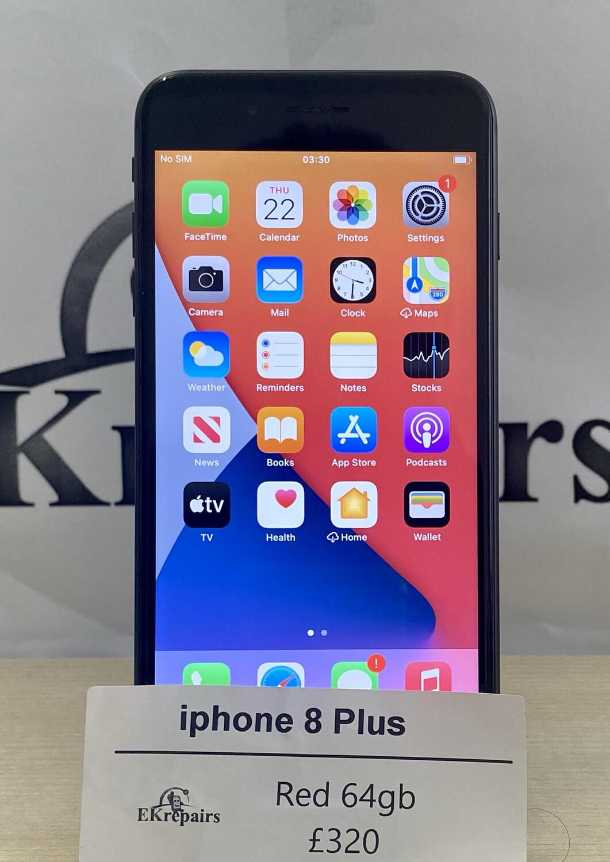 iPhone 8 Plus Black - 64gb