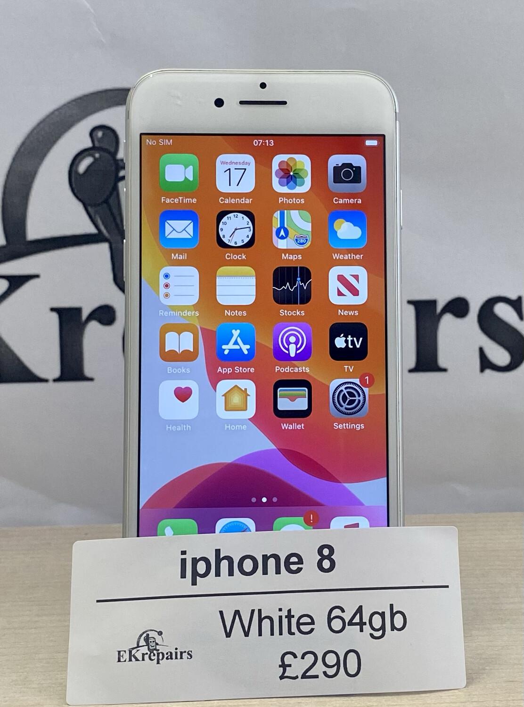 iPhone 8 White - 64gb
