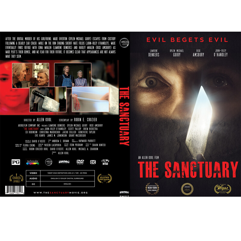 THE SANCTUARY  DVD