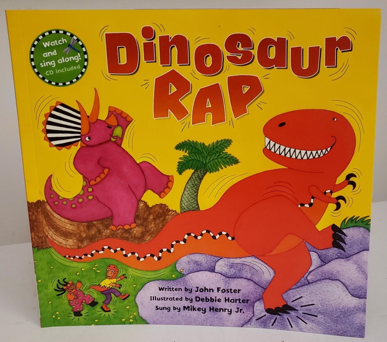 Dinosaur Rap Book by John Foster