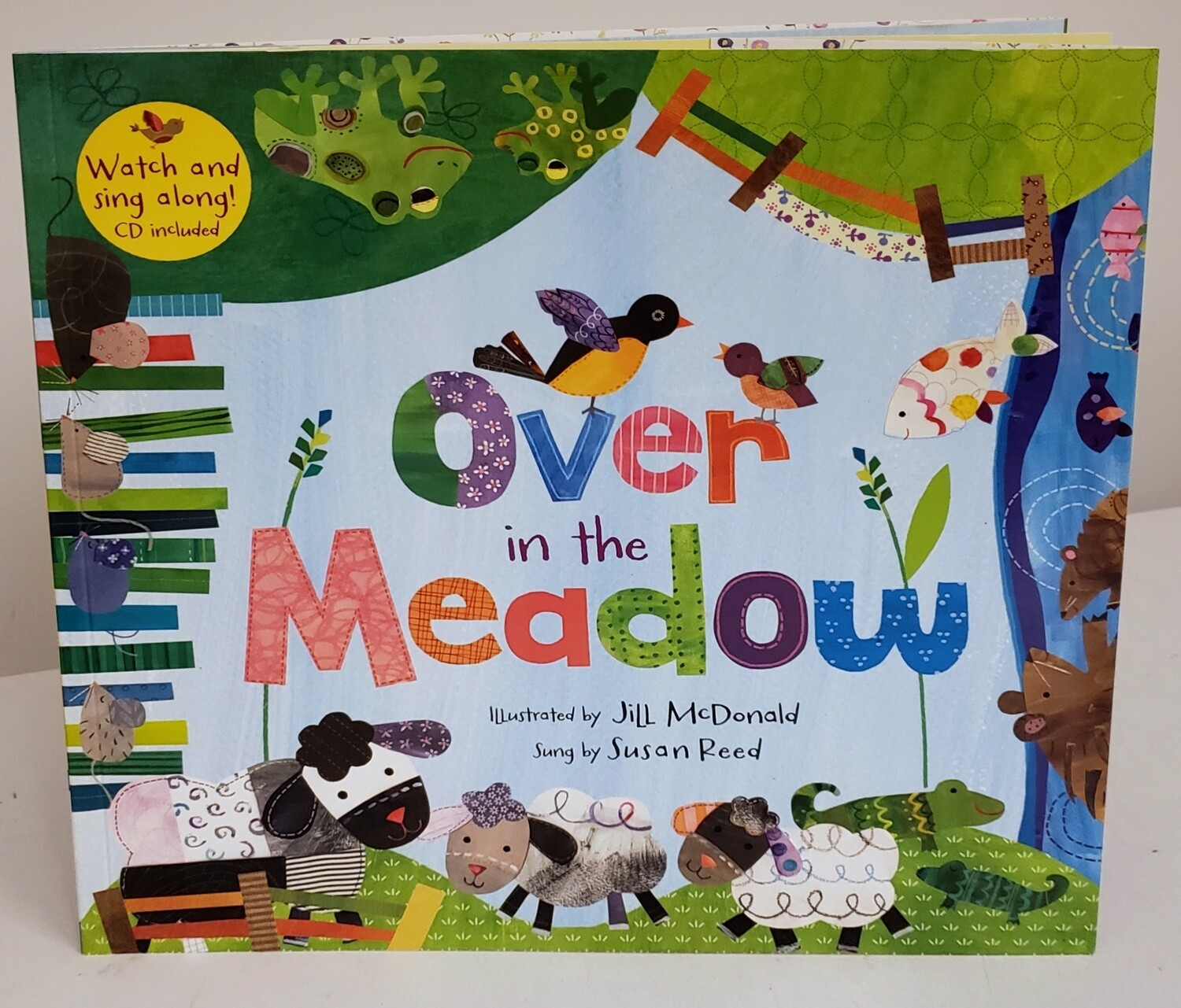 Over in the Meadow Sing-Along Book