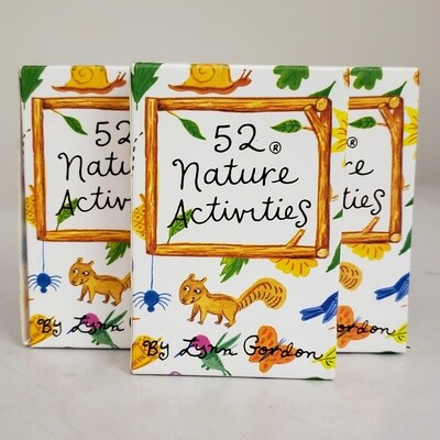 52 Nature Activity Card Deck