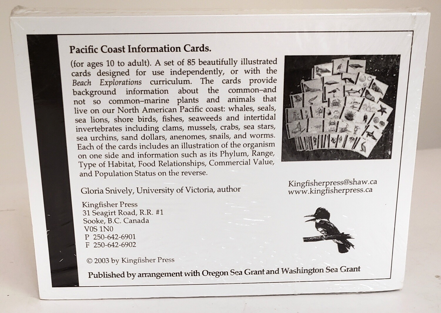 Pacific Coast Information Cards