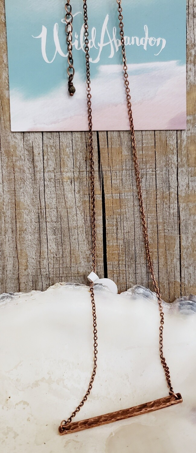 Wild Abandon Small Necklace - Copper Driftwood