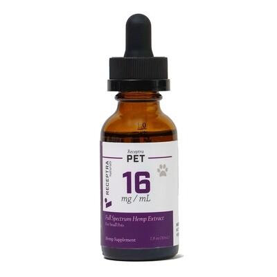Receptra CBD Oil For Dogs 5-50 lbs (16mg)