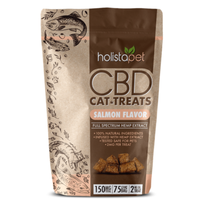 HolistaPet CBD Cat Treats (150mg)