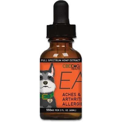 CBD Dog Health Ease CBD Oil for Dogs 5-160 lbs (550mg)