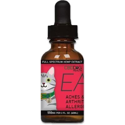 CBD Dog Health Ease CBD Oil For Cats 5-30 lbs