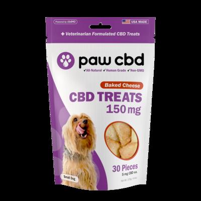 Paw CBD CBD Treats For Dogs 5-25 lbs (150mg) Cheese
