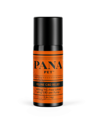 Pana Health CBD Feline Relief Lotion for Cats 5-30 lbs (300mg)