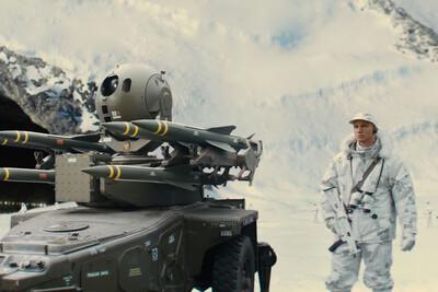 Signed print - Kingsman: The Secret Service - Arctic guard