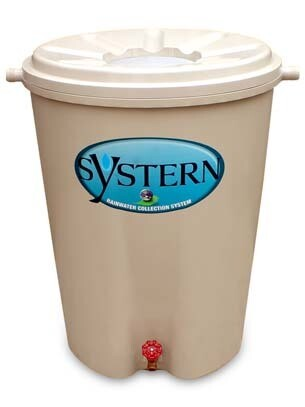 Systern 55 Gallon Rain Barrel