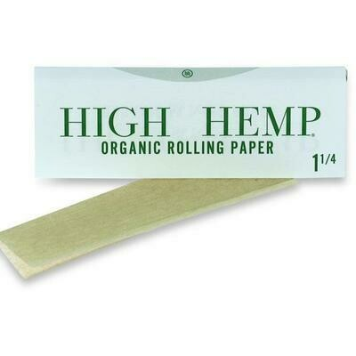 """High Hemp Rolling Papers 1 1/4"""""""