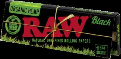 Raw Black Organic 1.25
