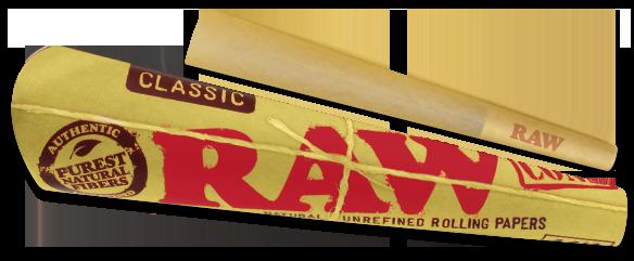 Raw Classic Cone 1 1/4 6pk