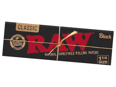 Raw Black 1.25