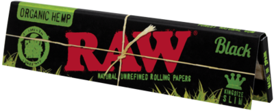 Raw Black Organic King Size Slim