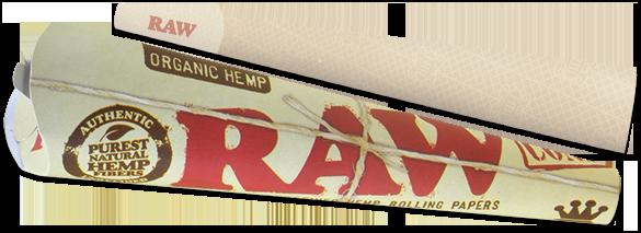 Raw Organic Cone King Size 3pk