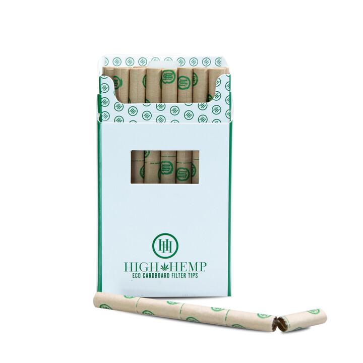 High Hemp Eco Cardboard Filter Tips