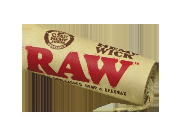 Raw Hemp Wick 20ft